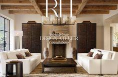 Imagine yourself here. Schedule your RH Interior Design Consultation.