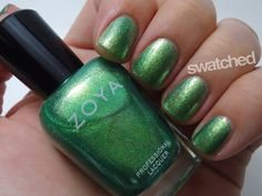 Seriously Swatched: Swatch & Review - Zoya Apple