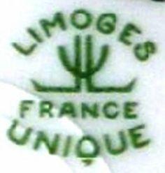 Marques estampilles des porcelaines de Limoges L