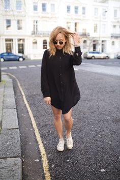 A Style Diary by Samantha Maria : THE INDIE SHIRT-DRESS