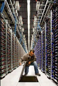 Google Data Center! A Rare look inside its data centers