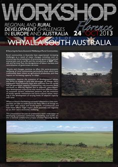 Manifesto (Australia) 70x100 cm realizzato per FARMAREMMA in occasione del workshop internazionale a Firenze - C&P ADVER