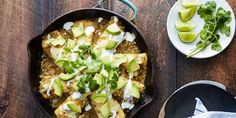 We found the secret to 22-minute enchiladas: Skip the oven and cook them on the stove-top.