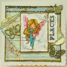 Fairytale Daydream: Anything Goes!  A new challenge at The Stamping Ch...