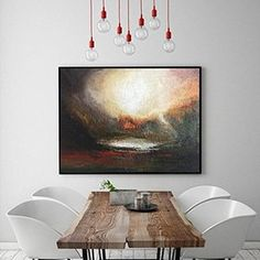 Large Original Abstract Painting On Canvas, gold red for living room art handmade Acrylic from Studio Trend Gallery Large Canvas Art, Abstract Canvas Art, Large Wall Art, Large Art, Modern Prints, Modern Wall Art, Wall Art Decor, Wall Art Prints, Original Artwork