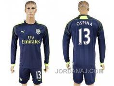 http://www.jordanaj.com/arsenal-13-ospina-sec-away-long-sleeves-soccer-club-jersey.html ARSENAL #13 OSPINA SEC AWAY LONG SLEEVES SOCCER CLUB JERSEY Only $20.00 , Free Shipping!
