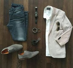 Living in Neutral Territory ⚪️⚪️ Discovered on 📷 Stylish Mens Outfits, Casual Outfits, Men Casual, Mode Outfits, Fashion Outfits, Herren Outfit, Mens Attire, Sharp Dressed Man, Men Style Tips