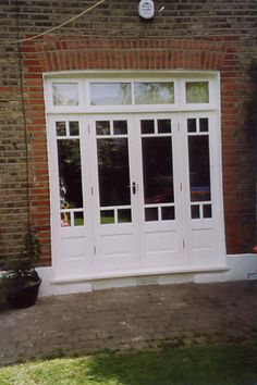 What are timber French doors?   This unique style of door is designed to let plenty of natural light into your home, provide you with outstanding views of the outside world and give you easy, yet secure access to and from your home;  http://www.ifosterwindows.co.uk/timber-french-doors/info_29.html