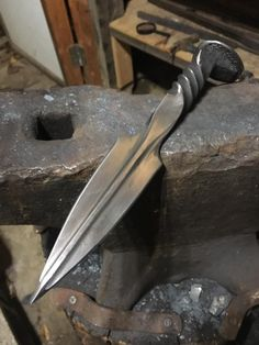 Knife making from repurposed / recycled steel
