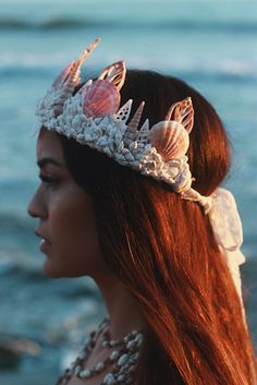 This superior-in-all-ways headband. | 17 Mermaid Crowns That Prove Shells Are Better Than Flowers