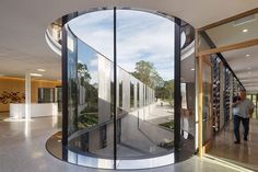 Plant Bank, Australia, Royal Botanical Gardens, BVN Architecture, Mirror Facade, Perforated Metal Exterior, Photography John Gollings