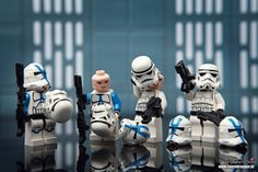 LEGO Star Wars Clone Trooper & Stormtrooper Minifigs | The birth of 501 Stormtrooper by storm TK431