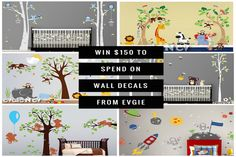Evgie Wall Decals $1