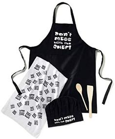 80d71358b0c Cooksmart Don t Mess With The Chef Kitchen Set for Men  Amazon.co