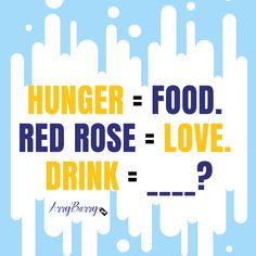 Show your drink love! Comment your amazing answer what it would be ?