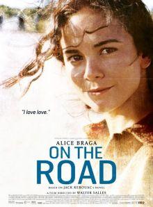 Poster de On The Road con Alice Braga. #postermania