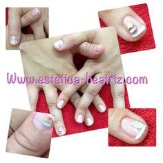 Dulces de fimo, uñas, nails