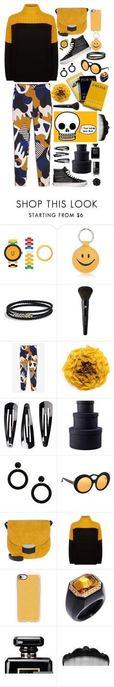 """Black and Gold"" by youaresofashion ❤ liked on Polyvore featuring Lego, Barneys New York, David Yurman, Lancôme, Monki, Gucci, Vans, CC, NLY Accessories and MOOD"