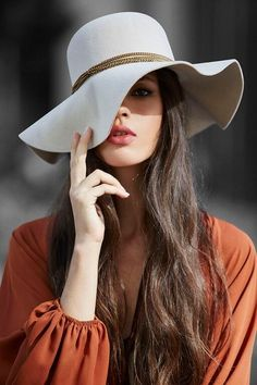 Hats for Women: Fashionista: Hats are a great way to add character...