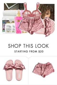 """""""tripping off thots"""" by pinksemia ❤ liked on Polyvore featuring Puma and Monette"""