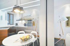 Apartment in Bucharest - Modern Residential Architecture, Residential Complex, Architecture Plan, Interior Architecture, Interior Design Work, Minimalist House Design, Transitional Living Rooms, Bucharest, Kitchen Living