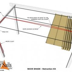 WAVE SHADE – Retraction kit