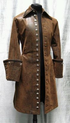 Spanish Galleon/Steampunk Captain's Coat