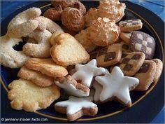 Various Christmas cookies. Have you already planned what to bake this year?