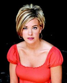Bangs Short Hairstyles with Spike on The Back Side for Women from Kate Gosselin