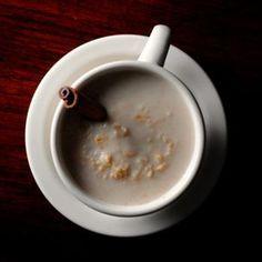 Atole De Avena - cinnamon stick, oats, milk and sugar.
