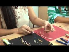 "Tutorial soutache . Orecchini ""Tears"" DIY - YouTube"