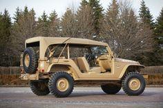 Jeep Staff Car Concept Rear Three Quarter