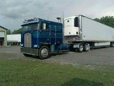 Semi Trucks, Big Trucks, Cab Over, Kenworth Trucks, Voodoo, Rigs, Vehicles, Slim, Usa