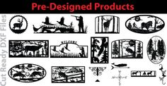 Free DXF | Free Cut Ready DXF Artwork Files