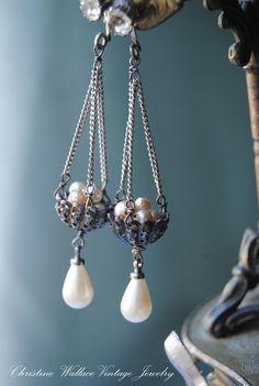 "Christine Wallace … ""Leben durch Schmuck ehren"": Inspir … Christine Wallace … ""Honoring Life through Jewelry"": Inspir … honor Cute Jewelry, Jewelry Crafts, Beaded Jewelry, Vintage Jewelry, Women Jewelry, Jewelry Ideas, Gold Jewelry, Emerald Jewelry, Skull Jewelry"