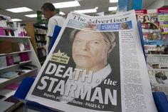 David Bowie makes front pages across the globe as world mourns the ...