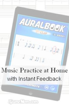 """Music Practice App Offering Instant Feedback. Based on well developed music training programs, this app can """"HEAR"""" what your child played, and provide instant feedback on kids' performance. Great for music practice at home."""