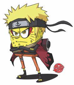 Sage Mode by antzartgraphic on DeviantArt Naruto Drawings, Cartoon Sketches, Anime Crossover, Naruto Sketch, Anime Tattoos, Cute Cartoon Wallpapers, Anime Characters, Spongebob Drawings, Cartoon Crossovers