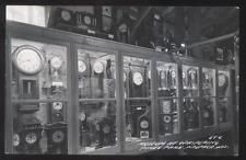 REAL PHOTO Postcard WAUPACH Wisconsin/WI  Whispering Pines Clock Museum 1930's