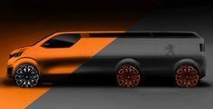 Transportation - Sketches  - Peugeot foodtruck