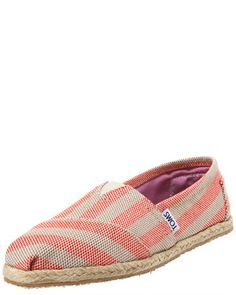 Beacon Striped Espadrille Slip-On by TOMS Shoes at Bergdorf Goodman.