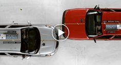 Teste De Colisão Mostra a Diferença Entre As Duas Versões Mais Baratas Da Nissan Mexicana e Americana