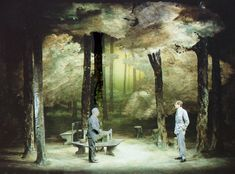 A Walk in the Woods. Comedy Theatre. Scenic design by Robin Don.
