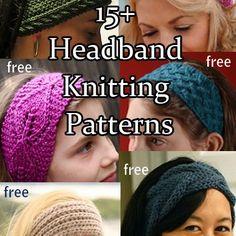 Headband and Headwrap Knitting Patterns