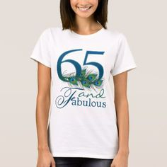 65th Birthday Shirts - tap to personalize and get yours
