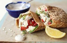 Summer Grilling: Recipe for grilled Greek chicken pita pockets