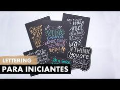 LETTERING PARA INICIANTES | Primeiro Rabisco - YouTube