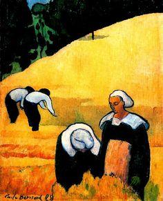 Pinturas do AUwe - Émile Bernard - (Pós-Impressionismo) Francês