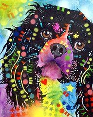 Dogs - Cavalier King Charles Spaniel Art - King Charles by Dean Russo