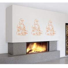 ShaNickers Wall Decal/StickerBuddha by ShaNickersWallDecals, $65.00
